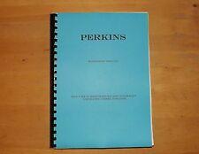 Perkins. 6.354.Diesel engine.Workshop manual.Dated 1970.