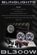 Xenon Fog Lights Kit - 55 Watts 4100K Lamps Headlights
