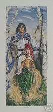 Nene Thomas Print Signed Le Devotion Knight Princess Limited Edition Fairy Faery