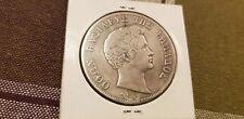 Greek Coin 1844 5 drachmai Otho Othon silver rare Greece ELLADA Hellas taliro