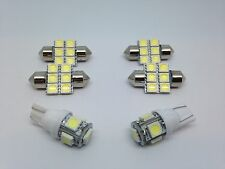 Mitsubishi EVO X 6 White LED T10 & 31mm map dome + license plate lamp Package