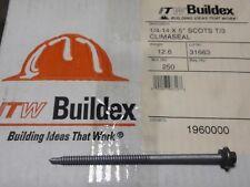ITW Buildex 1960000, Teks® 3 HWH CL 1/4-14 x 5'' Hex screws Stainless