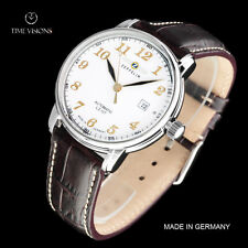 Zeppelin 40mm LZ 127 Graf Zeppelin German Made Automatic Leather Strap Watch