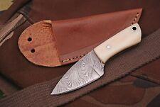 Damast Mini Messer, sehr schönes Hand geschmiedetes Messer 4258