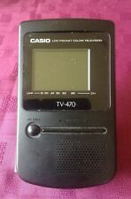 Casio TV-470D Pocket Television useful as TV or Theatre Prop or with Modulator