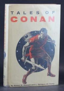 First Edition 1955 Tales of Conan Robert E Howard L Sprague de Camp Gnome Press