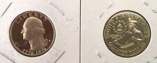 1776 1976  S Washington Bicentennial Quarter ~ From 1975 US Mint Proof Set