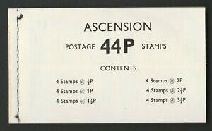 Ascension 1971 44p Complete booklet SG SB2.