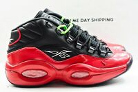 Reebok Question Mid (Mens Size 8.5) Shoes G57551 Bred Street Iverson Multicolor