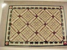 Needlepoint Chart and Instructions Booklet Lynne Tomlinson Flying Geese Quilt
