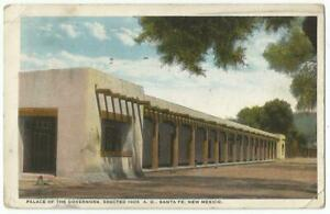 Santa Fe New Mexico NM ~ Palace of the Governors Building 1923