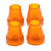 4pcs Rubber Replacement Tips For Foldable Cane Walking Stick Crutches 7/8