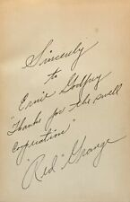 Red Grange: Zuppke of Illinois FIRST EDITION, SIGNED BY RED GRANGE