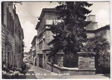 0276 MACERATA CINGOLI Cartolina FOTOGRAFICA viaggiata 1957