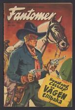 Fantomen - The Phantom - Hopalong Cassidy - 1952 Swedish Golden Age Comic #Nr 11