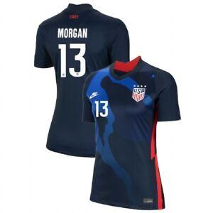 2020 Alex Morgan #13 USA WOMENS Blue 4 Star Soccer Jersey, Olympics