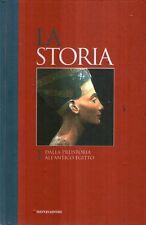 MU4 La storia 1 Dalla preistoria all'antico Egitto Mondadori