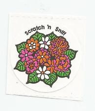 Vintage: 3M  Scratch & Sniff Sticker -  FLOWERS
