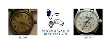 Manual de servicio de restauración de reparación de reloj automático Damas Caballeros cualquier marca edad o modelo