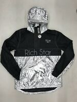 Rich Star Metallic Pullover Jacket Silver Mens Sample Large Nice New R6230235
