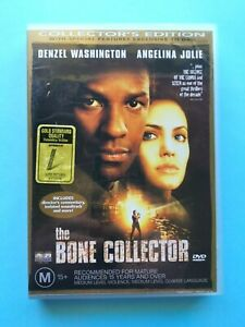 The Bone Collector - Collector's Edition 🎬 DVD Region 4 PAL 🎬