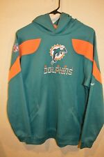 Vintage Reebok On-Field  NFL Miami Dolphins Men's Pullover Hoodie Size XL