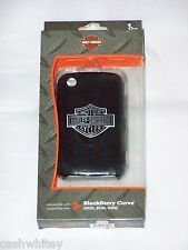New ListingHarley Davidson Motorcycles BlackBerry Curve Black Cell Phone Shell Case Cover