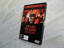 JEAN-CLAUDE VAN DAMME COLLECTION - REGION 4 PAL - 4 DISC DVD SET