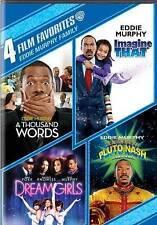 4 Film Favorites:Eddie Murphy; Family: A Thousand Words/ Imagine That/ Adventure