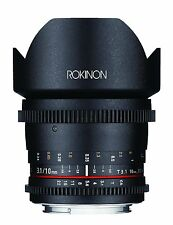 Rokinon Cine DS 10mm T3.1 Cine Wide Lens for Sony A Mount - DS10M-S
