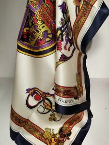 """Square S4 Inspired by BOOK OF KELLS Style Irish Scarf 26""""x26""""(100% Polyester)"""