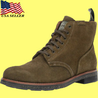 Polo Ralph Lauren Men's Suede Army Boot Leather Brown 812764283003 9.5