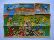 1998 CC's *THE SIMPSONS* 3D PUZZLE PICTURE TAZO SET OF 9 (B)