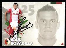 Raul Bobdailla Autogrammkarte FC Augsburg 2014-15 Original + A 123353
