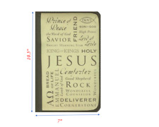Inspiration Names of Jesus Large Bible & Book Cover by Zondervan Brand New