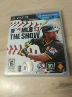 MLB 13 The Show PlayStation 3 PS3
