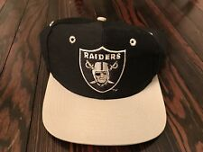 Vintage L.A. Raiders The Game Fitted Hat Size 6 7/8 Team NFL