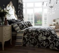 Richmond Black Duvet Covers Quilt Covers Reversible Bedding Sets All Sizes