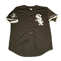 Chicago White Sox Sewn SGA Black Alternate Jersey Youth XL - MLB Baseball