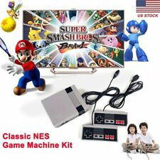 500 Classic Games NES Game Machine Video Game Mini Handheld 2 Game Controllers