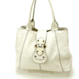 Furla Shoulder bag White Woman Authentic Used Y1380