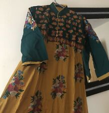 Cocktail Dress Gown Anarkali Indian Pakistani Floor Length Party Salwar Suit