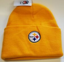 New!! NFL Pittsburg Steelers Embroidered Beanie