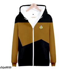 Star Trek Discovery Hoodies Zip Sweatshirt Unisex Sweater Leisure Jacket Coat