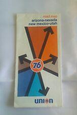 1973 Union 76 Arizona-Nevada New Mexico-Utah Highway and Road Map