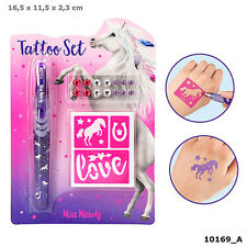 Depesche Miss Melody Tattoo-set Pferde 10169 A