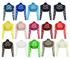 Women's Cropped Boleros Shrugs Polyester Jumpers & Cardigans