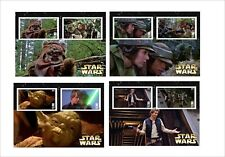STAR WARS RETURN OF THE JEDI 8 SOUVENIR SHEETS MNH UNPERFORATED MOVIES