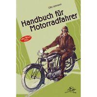 Handbuch für Motorradfahrer Pflege Wartung Motorrad Altes Wissen 1925 Buch