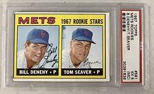 Tom Seaver 1967 Topps Baseball #581 RC Rookie Card New York Mets PSA 5 EX